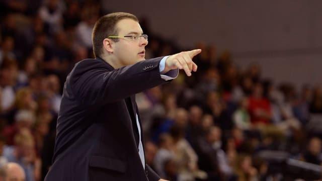 Basketballtrainer Marko Simic
