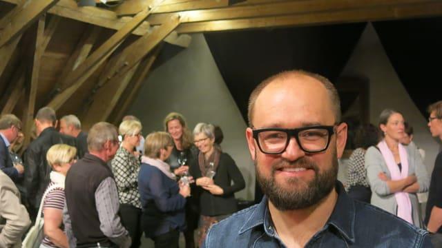 Der Präsident des Vereins Kulturlandschaft, Marco Sieber.
