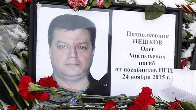 Der russische Pilot Oleg Peshkov.