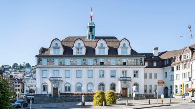 Regierungsgebäude AR in Herisau von aussen.