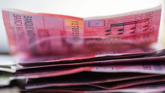 Ein Haufen Banknoten