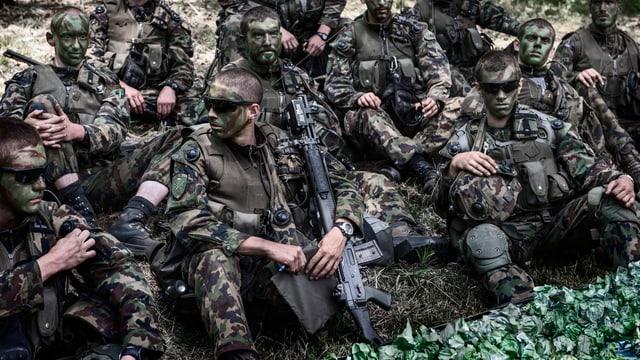 Video «Zeitreise: Eine Schweiz ohne Armee (8/31)» abspielen