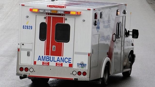 In'ambulanza dal Canada.