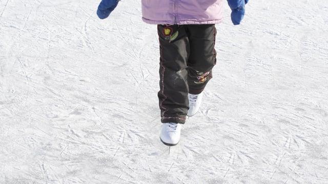 Kind auf Eis