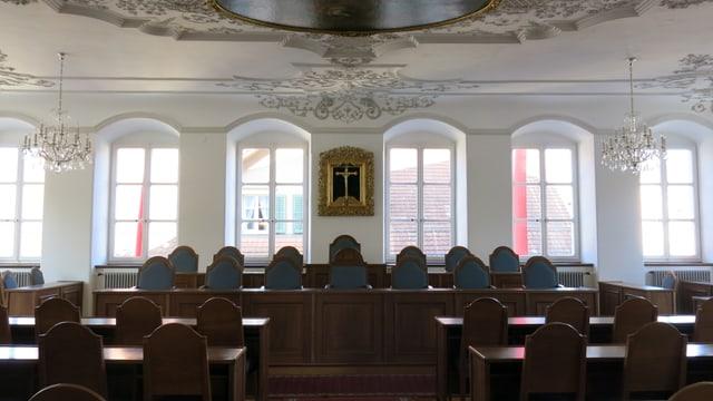 Bild des Kantonsratsaals