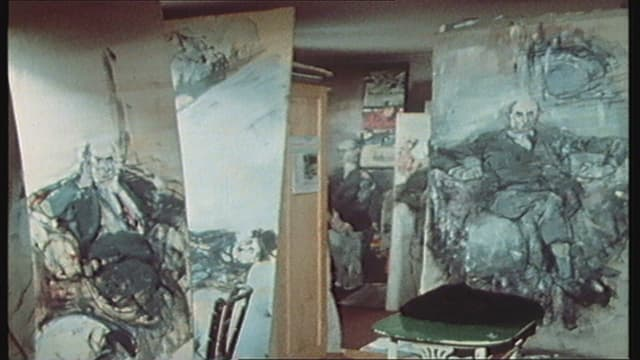 L'atelier da Willy Guggenheim alias Varlin