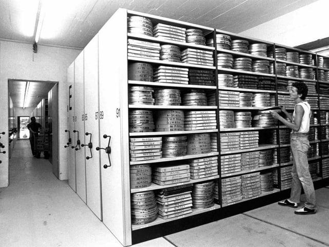 Innenraum der alten Cinémathèque Suisse