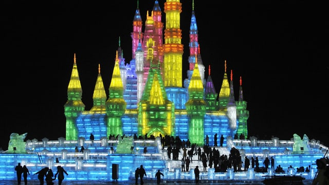 Eisskulpturen-Festival