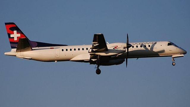 Eine Maschine der Darwin Airlines.
