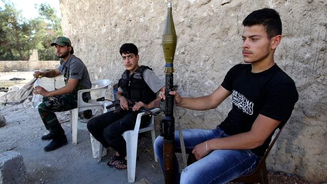 Mitglieder der Freien Syrischen Armee