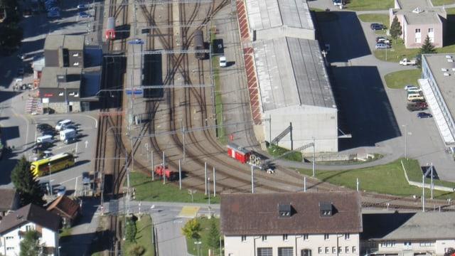 Der Bahnhof Andermatt