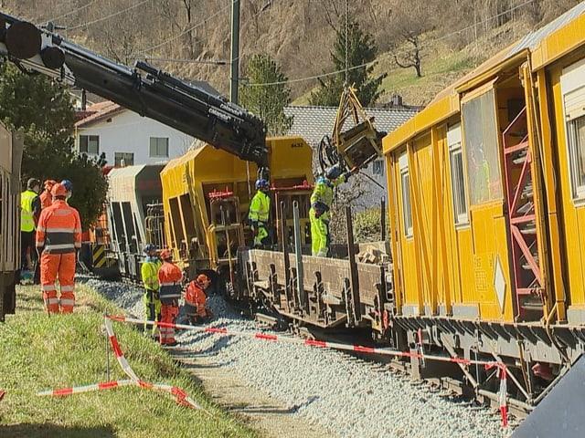 Bahnunfall RHB