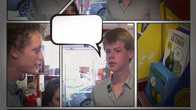 Video «Alors demande!: La bande dessinée (14/15)» abspielen