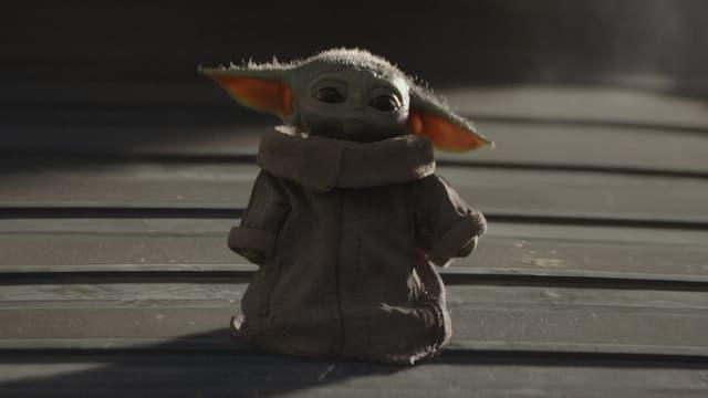 Baby-Yoda in all seiner süssen Pracht.