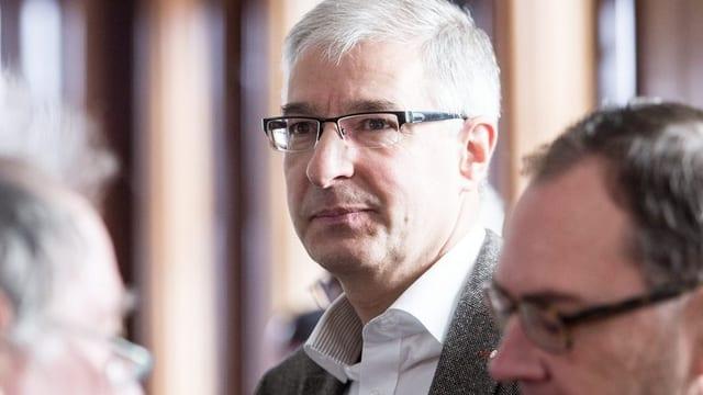 Porträt des Herisauer Gemeindepräsidenten Paul Signer.