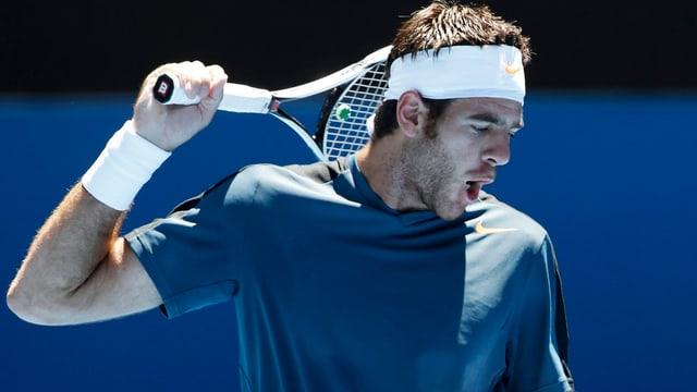 Für Juan Martin Del Potro sind die Australian Open bereits vorbei.