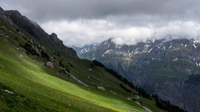 Die Alp Fiseten in den Urner Berggen