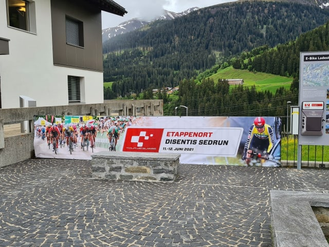 Il Tour de Suisse è la proxima fin d'emna quasi tut il temp en la regiun da Sedrun.