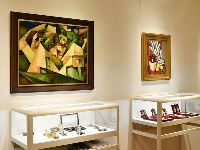 Kunstgegenstände aus der Sammlung Schwarzenbach - sie werden nun doch nicht versteigert.