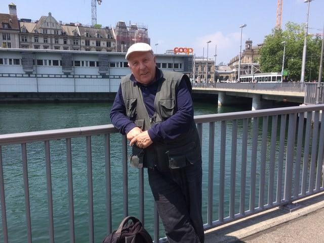 Hardy Hepp, 74, aus Rüti.