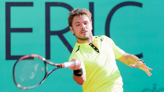 Stan Wawrinka dat tennis