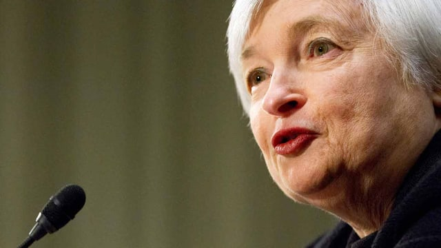 Chefin der US-Notenbank: Janet Yellen.