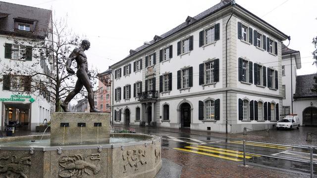 Das Rathaus des Kantons Thurgau in Frauenfeld.