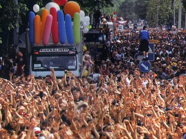 Streetparade vom 13. August 1994