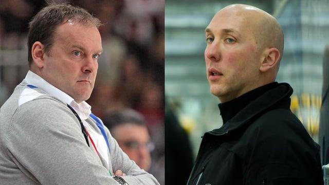 Heinz Ehlers (Cheftrainer) und John Fust (Assistent)