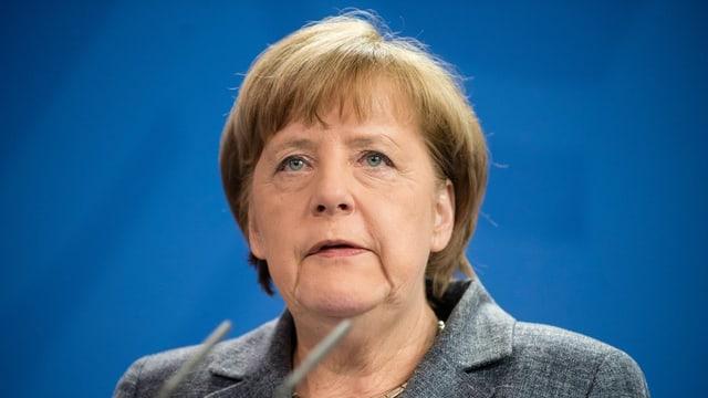 purtret da Angela Merkel