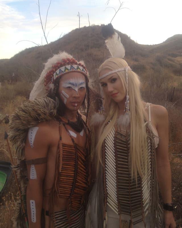 Viet Dang und Gwen Stefani