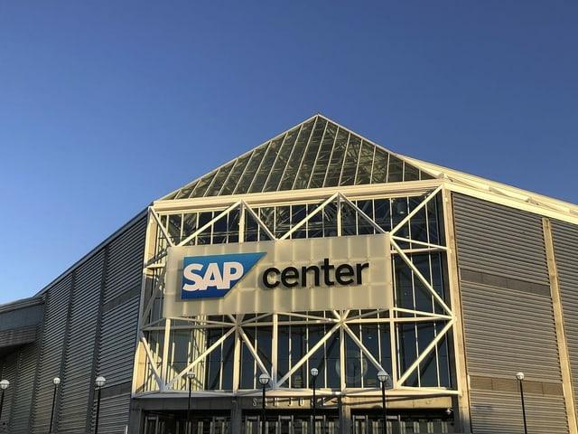 Das Stadion der San Jose Sharks.