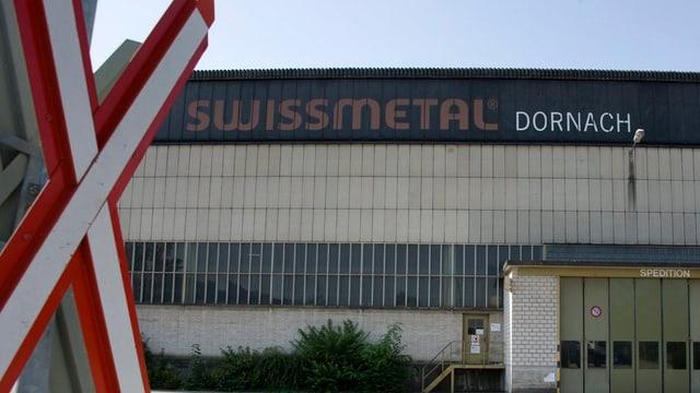 Swissmetal-Werk in Dornach