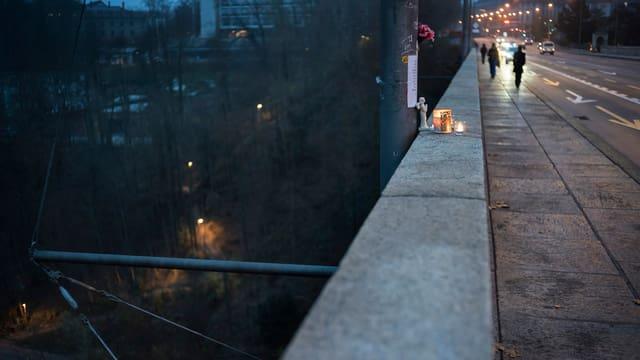 Ein Suizid in Bern.