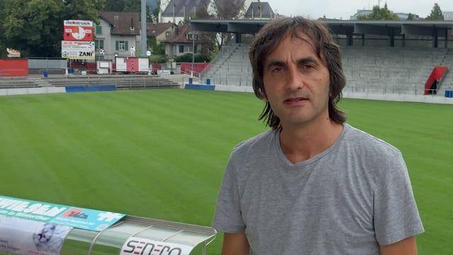 Mösli, im Hintergrund das Stadion Schützenwiese