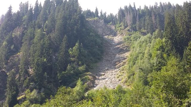 La bova ch'ha bloccà la Val Sumvitg per in lung temp.