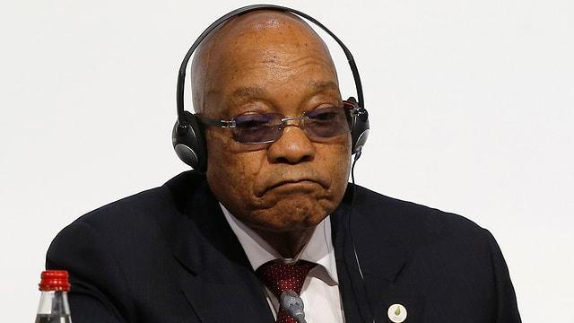 Südafrikas Präsident Jacob Zuma.