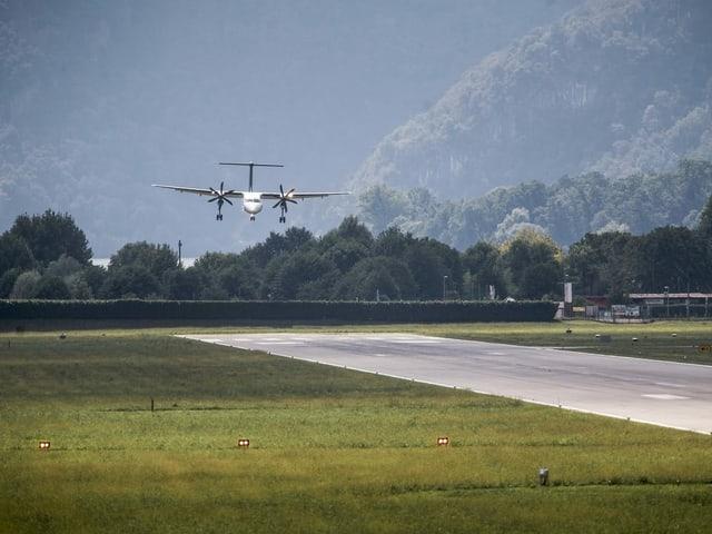 """La fin da settember è atterrà l'ultim eroplan da passagiers sin il eroport a Lugano. I ha dat in grounding tar la cumpagnia """"Adria Airways"""" che sgulava 4 giadas per di da Lugano a Turitg ed enavos."""