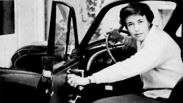 Ein Archivbild von Z'Graggen hinter dem Steuer eines Autos.