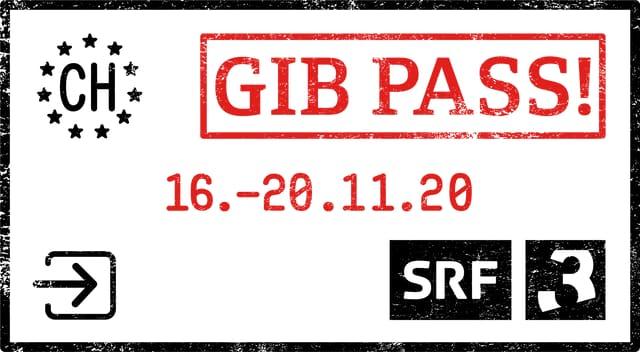 Gib Pass: Die Themenwoche von Radio SRF 3 läuft vom 16. bis 20. November 2020.