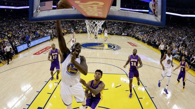Warriors Gegen Lakers