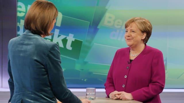 Angela Merkel en ina intervista.