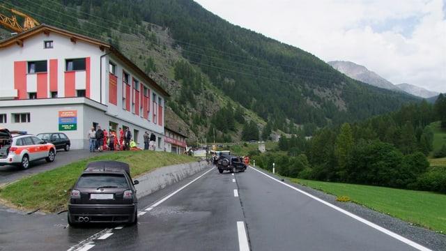 La via dal pass dal Furn è stada serrada per bun in'ura.