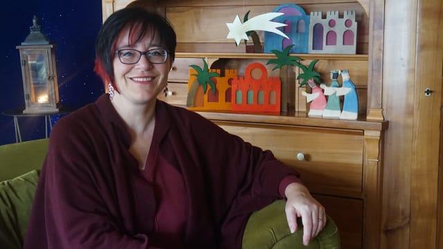Porträt von Anita Keller.