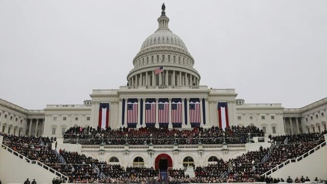 Inauguration von US-Präsident Barack Obama.