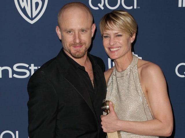 Verlobt: Hollywood-Schauspielerin Robin Wright will zum dritten Mal heiraten. Diesmal ihren Schauspielkollegen Ben Foster.