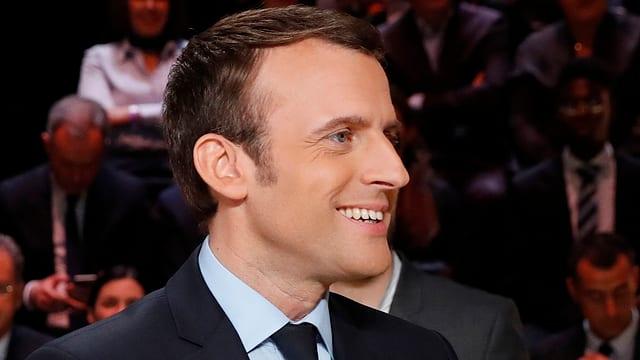 Macron ha persvas