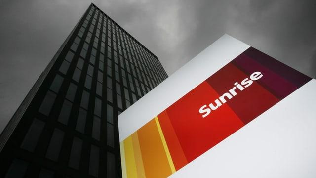 purtret dal logo da Sunrise.