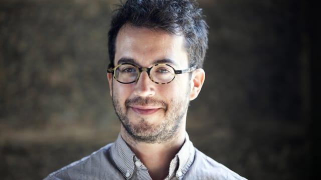 Ein Porträt von Autor Jonathan Safran Foer.