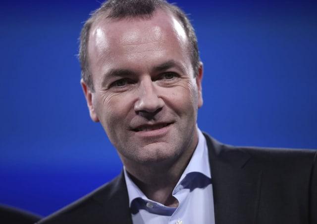 Manfred Weber (CSU, Deutschland).